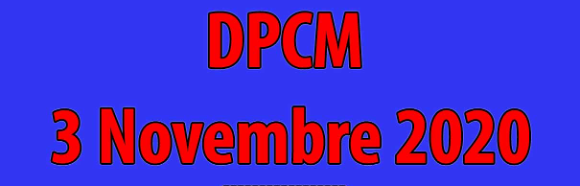 Circolare n. 55 – Adeguamento alle indicazioni del DPCM 03/11/2020